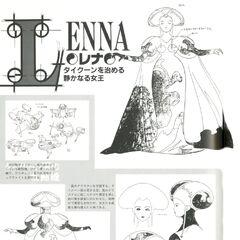 Queen Lenna.