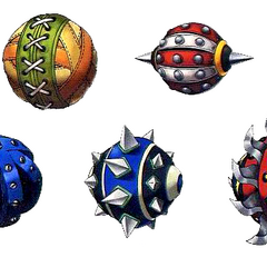 Wakka's Blitzballs.