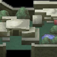 Render of Baron Town (iOS).