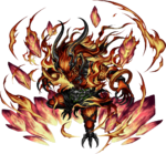 FFBE Ifrit Artwork 3