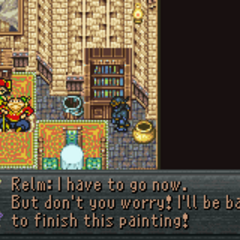 Relm joins the party (GBA).