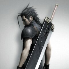 Zack's 10th Anniversary CG render with his Buster Sword.