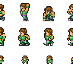 Set of Guy's sprites.