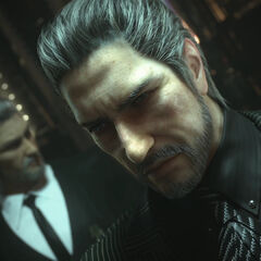 Regis, as he appears in the Jump Festa trailer for <i>Final Fantasy XV</i>.
