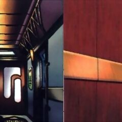 Intercontinental carriage internal images.