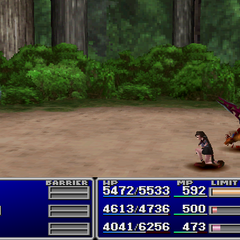 Tifa using Slash-All.