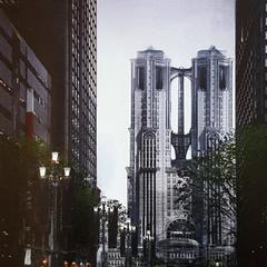 Concept art of the Citadel.