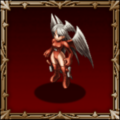 Ultima's <i>Tactics S</i> monster portrait (High Seraph).