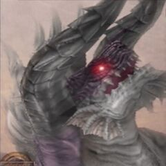 <i>Final Fantasy XII</i> Behemoth King as seen from the Bestiary.