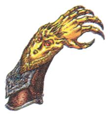Faerie Claws FFIII Art