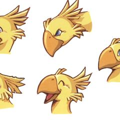 Chocobo concept art.