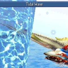Tidal Wave in <i>Final Fantasy IV</i> (DS).