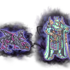 Ultimate Shield Dragon & Exdeath's Soul.