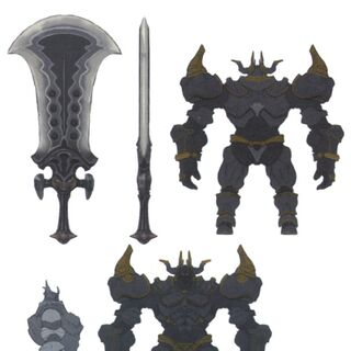 Concept artwork of the Magitek Colossus.
