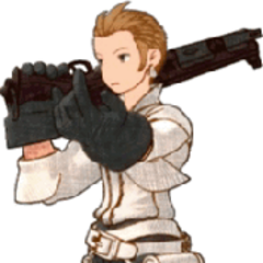 Balthier in <i>Final Fantasy Tactics</i>.