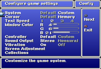 FFI Config Menu PS