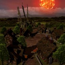 Rocket Town meteor