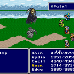 <i>Final Fantasy IV]]</i> (SNES).