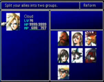 FFVII Party Select Screen