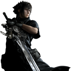 Early render of Noctis's old design.
