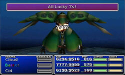 All lucky 7s