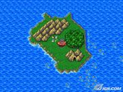 FFIV TAY Mythril World Map