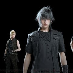 Noctis and party.