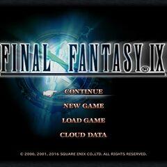 <i>Final Fantasy IX (iOS)</i>.