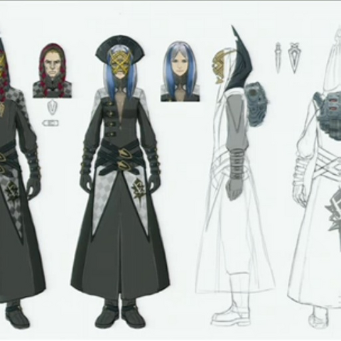 Concept artwork of the Order's disciples.