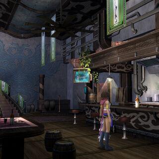 Barkeep's bar.