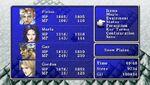FFII PSP Main Menu