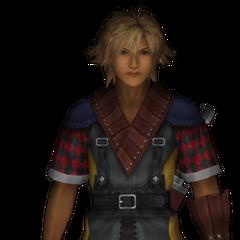 <i>Final Fantasy X-2 International + Last Mission</i> field model.