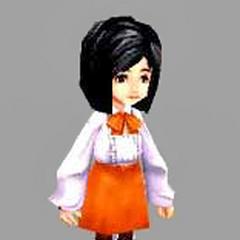 Garnet CG as a child.