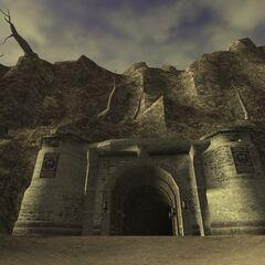 The entrance to Port Bastok.