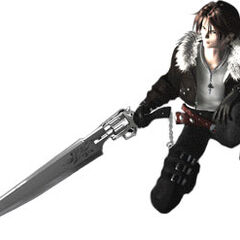 <i>Final Fantasy VIII</i> CG model.
