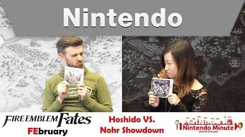 Nintendo Minute – Fire Emblem FEbruary Hoshido VS. Nohr Showdown
