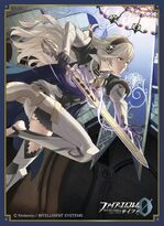 Female Corrin Promotional Cipher Card