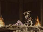 Nagi on an altar