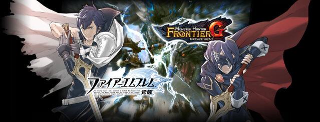 File:639px-MHFG-Fire Emblem Awakening x MHFG Wallpaper 001.jpg