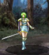 Frau battle (dismount)