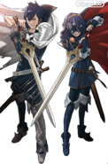Chrom and Masked Lucina