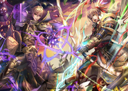 Leo&Takumi artwork Cipher TCG