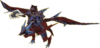 FE9 Gromell Wyvern Lord Sprite