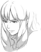 Sumia head sketch 1