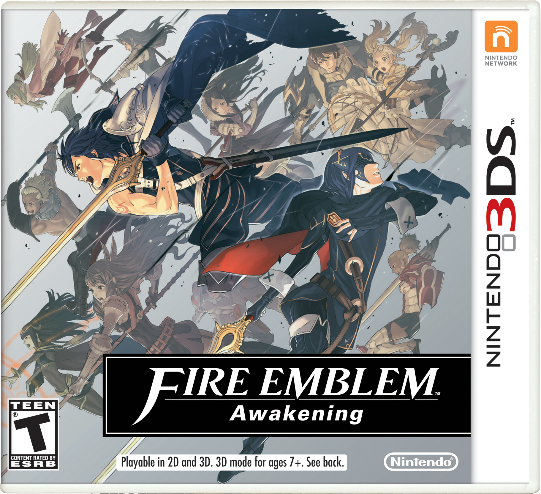 Fire Emblem: Awakening game art