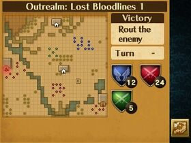 Lost Bloodlines 1 Map