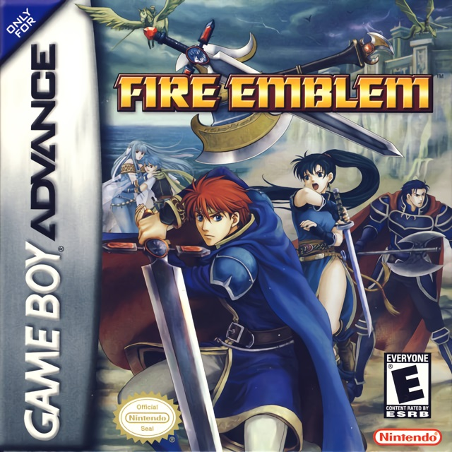 Fire Emblem GBA game cover