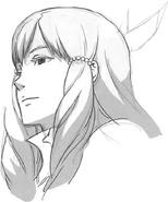 Sumia head sketch 2
