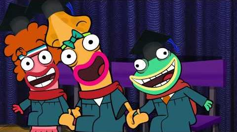 """Fish Hooks songs - """"Ring the Bell"""" Last episode"""