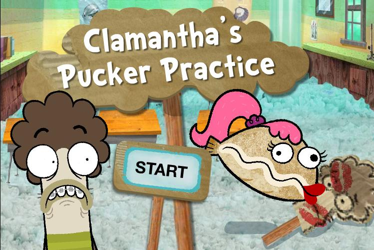 Clamantha 39 s pucker practice fish hooks wiki fandom for Fish and hooks menu